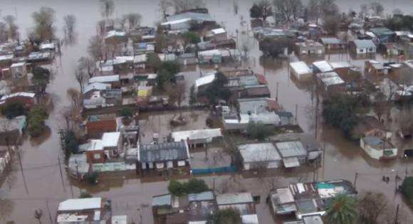 Inundación Salto