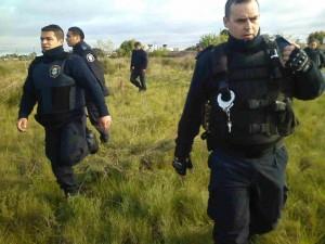 policia villa elvira desalojo